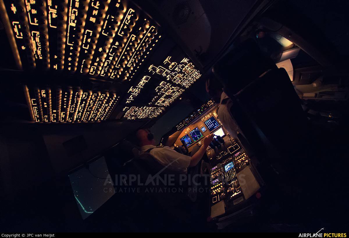 Cargolux LX-VCF aircraft at Beijing - Capital