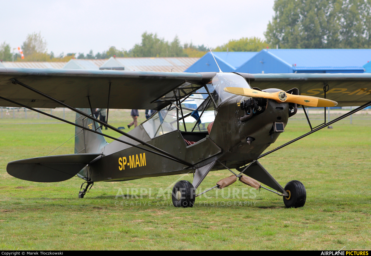 Private SP-MAM aircraft at Warsaw - Babice