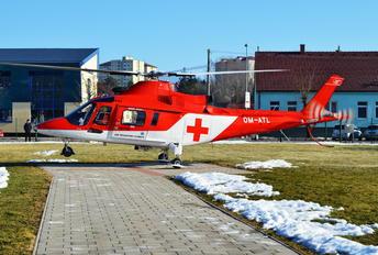 OM-ATL - Air Transport Europe Agusta / Agusta-Bell A 109