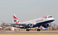 G-LCYJ - British Airways - City Flyer Embraer ERJ-190 (190-100) aircraft