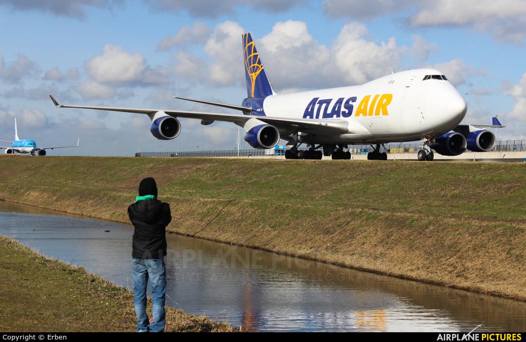 Atlas Air N497MC aircraft at Amsterdam - Schiphol