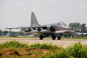 25 - Russia - Air Force Sukhoi Su-25SM aircraft
