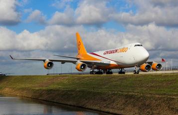 - - Centurion Air Cargo Boeing 747-400F, ERF
