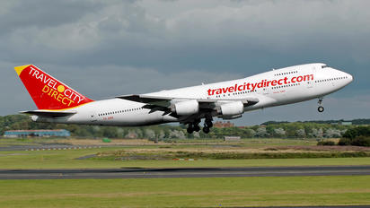 TF-ABA - Travel City Direct Boeing 747-200