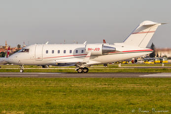 9H-JCD - Private Bombardier CL-600-2B19