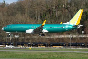 N1786B - Pegasus Boeing 737-800
