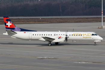 HB-IZX - Etihad Regional - Darwin Airlines SAAB 2000