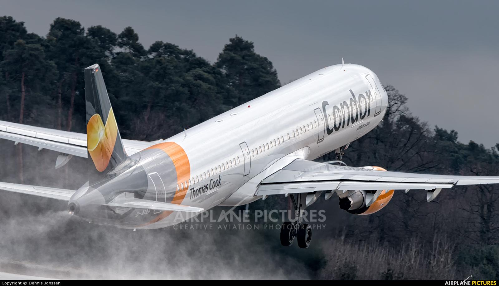Condor D-AIAF aircraft at Frankfurt