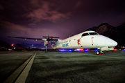 LX-LGH - Luxair de Havilland Canada DHC-8-400Q Dash 8 aircraft