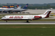 D-AGPG - Air Berlin Fokker 100 aircraft