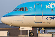 PH-KZA - KLM Cityhopper Fokker 70 aircraft