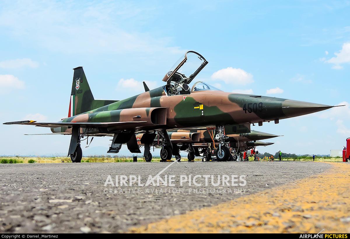 Mexico - Air Force 4509 aircraft at Santa Lucia AB