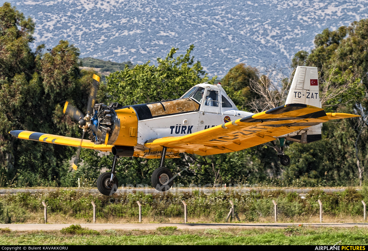 Turkish Aeronautial Association TC-ZAT aircraft at Selçuk-Efes