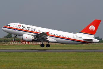 EI-DEZ - Meridiana Airbus A319