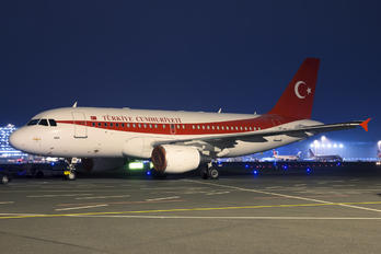 TC-ANA - Turkey - Government Airbus A319 CJ