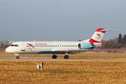 OE-LVK - Austrian Airlines/Arrows/Tyrolean Fokker 100 aircraft