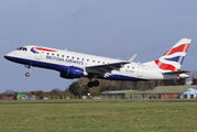 G-LCYI - British Airways - City Flyer Embraer ERJ-170 (170-100) aircraft
