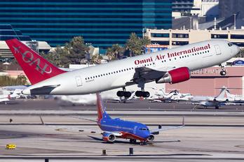 N234AX - Omni Air International Boeing 767-200ER