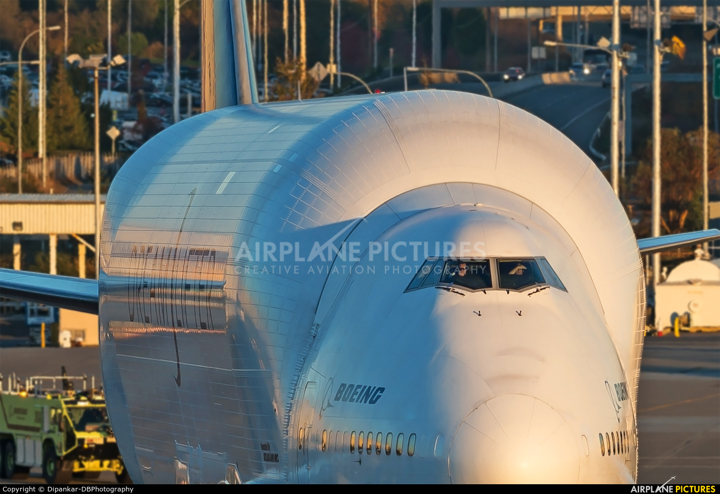 Boeing Company N747BC aircraft at Everett - Snohomish County / Paine Field