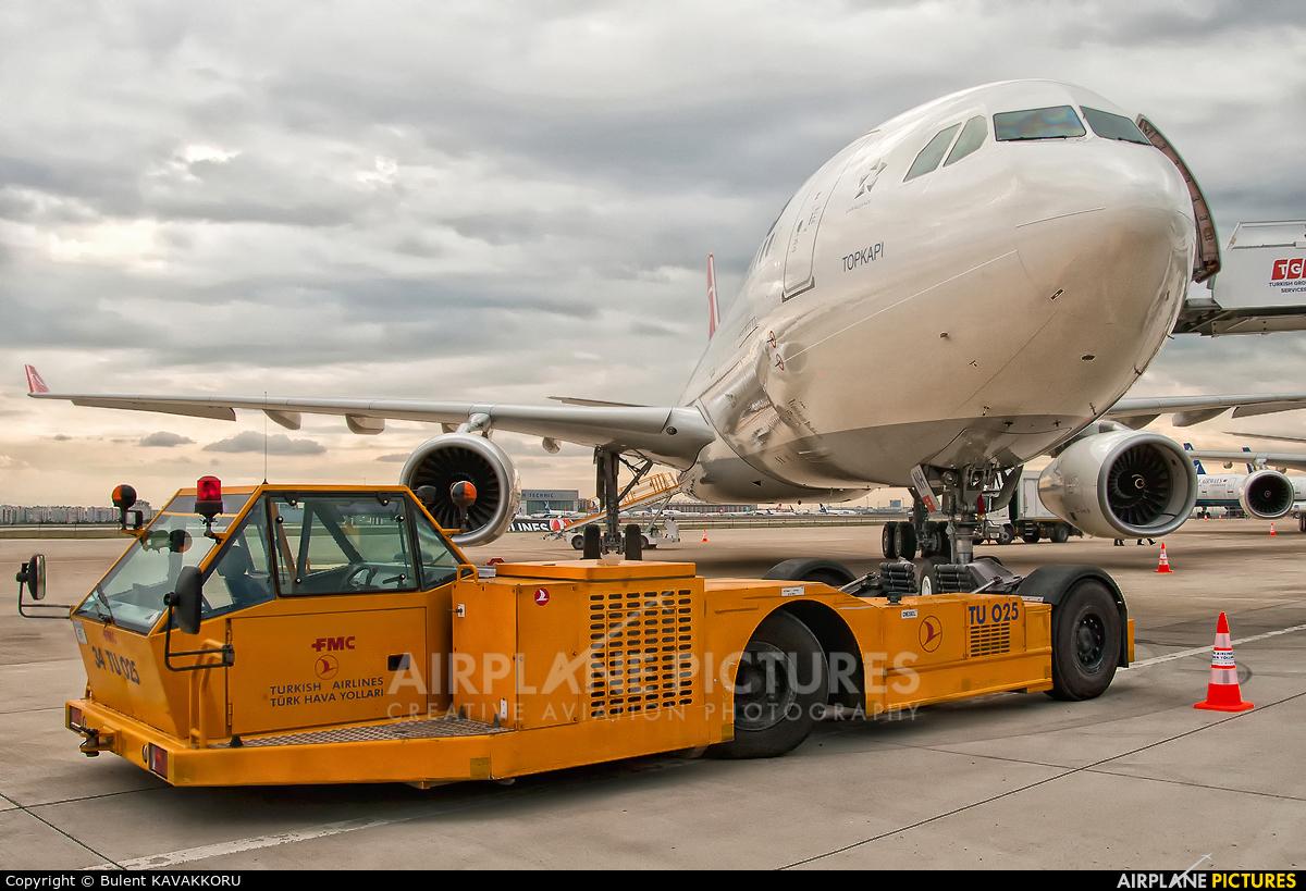 Turkish Airlines TC-JNH aircraft at Istanbul - Ataturk