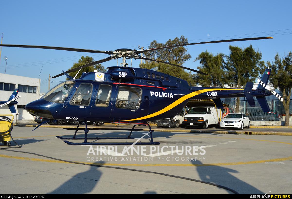 Mexico - Police XC-LOD aircraft at Mexico City - Licenciado Benito Juarez Intl