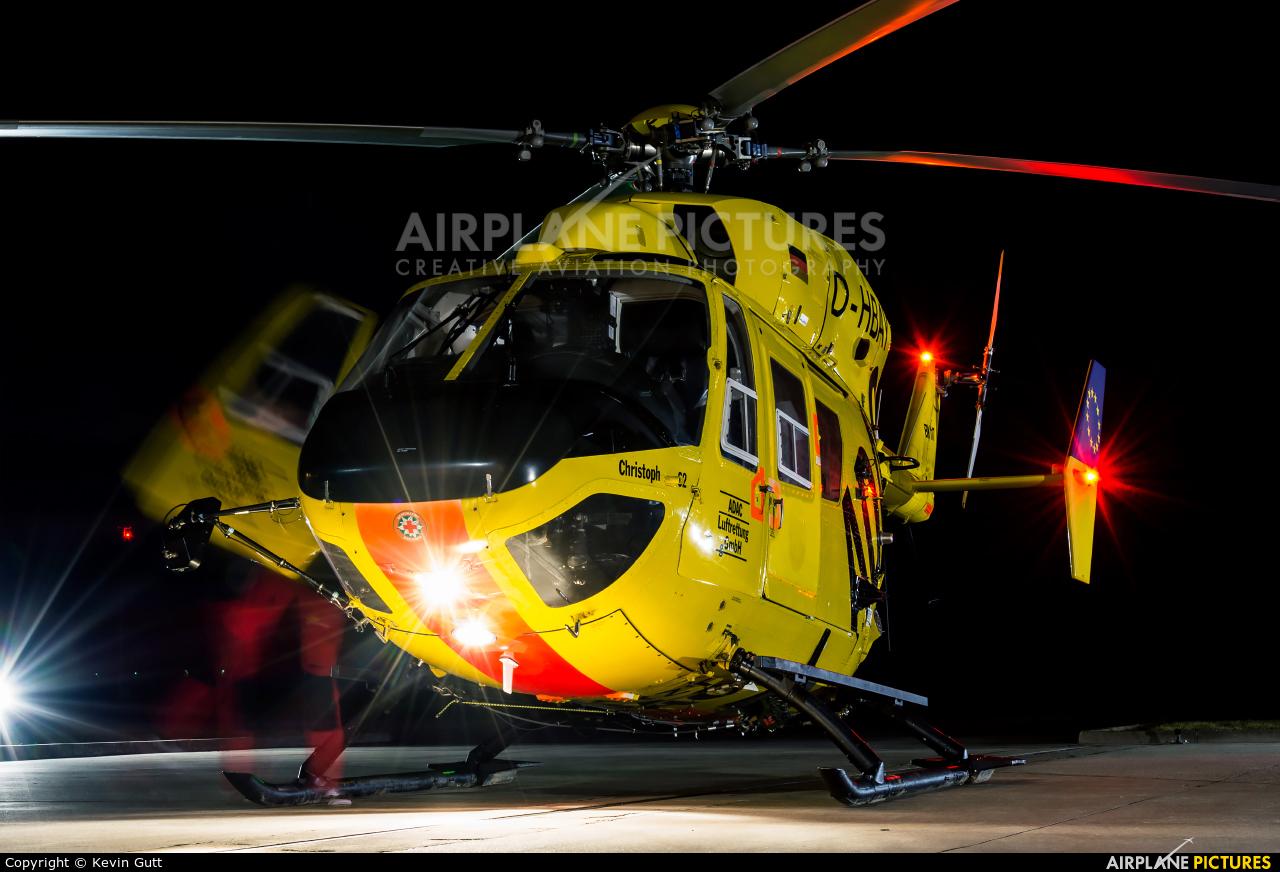 ADAC Luftrettung D-HBAY aircraft at