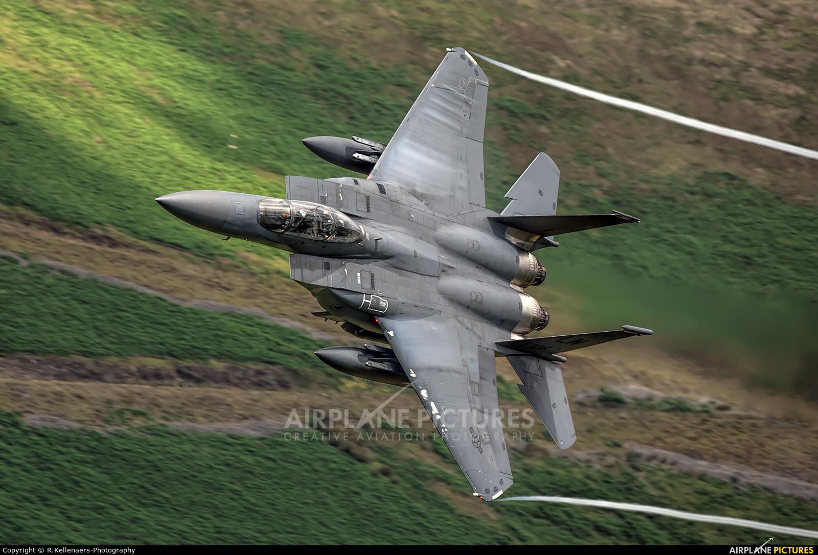 USA - Air Force 91-0335 aircraft at Machynlleth LFA7