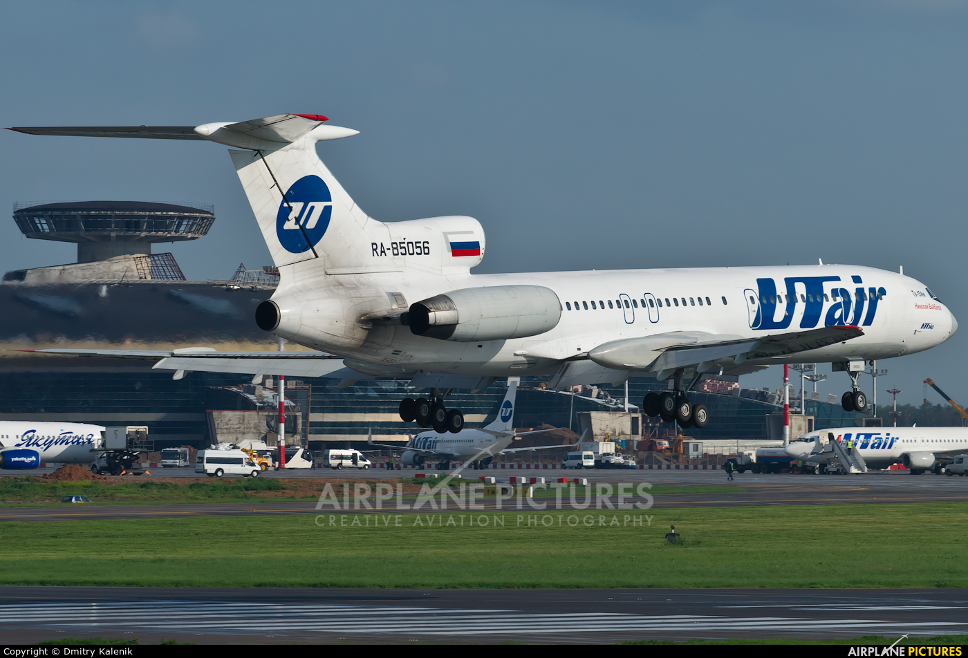 UTair RA-85056 aircraft at Moscow - Vnukovo