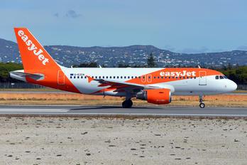 G-EZDA - easyJet Airbus A319