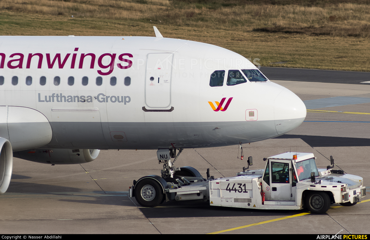 Germanwings D-AKNU aircraft at Cologne Bonn - Konrad Adenauer