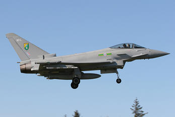 ZJ918 - Royal Air Force Eurofighter Typhoon FGR.4