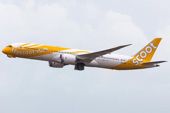 9V-OJA - Scoot Boeing 787-9 Dreamliner