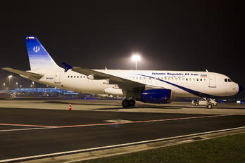 EP-AJC - Iran - Government Airbus A320