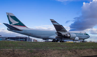 B-LIE - Cathay Pacific Cargo Boeing 747-400F, ERF