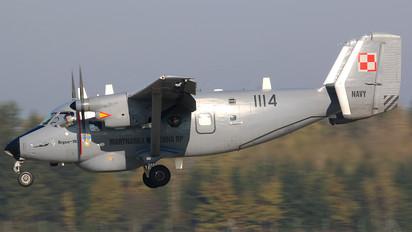 1114 - Poland - Navy PZL M-28 Bryza