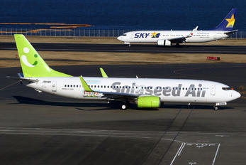 JA809X - Solaseed Air - Skynet Asia Airways Boeing 737-800