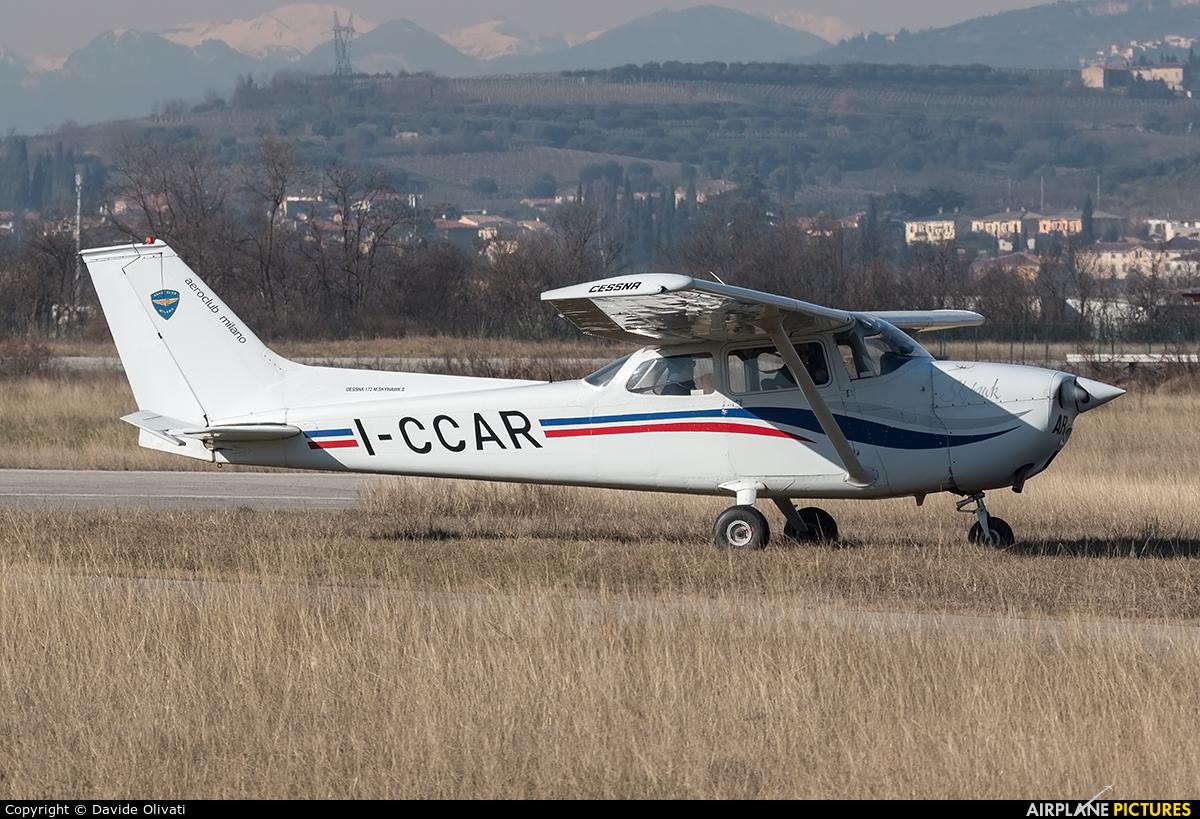 Aeroclub Milano I-CCAR aircraft at Verona - Boscomantico