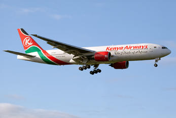 5Y-KQT - Kenya Airways Boeing 777-200ER