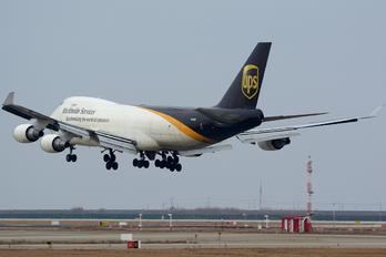 N583UP - UPS - United Parcel Service Boeing 747-400F, ERF