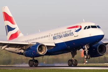 G-EUOF - British Airways Airbus A319