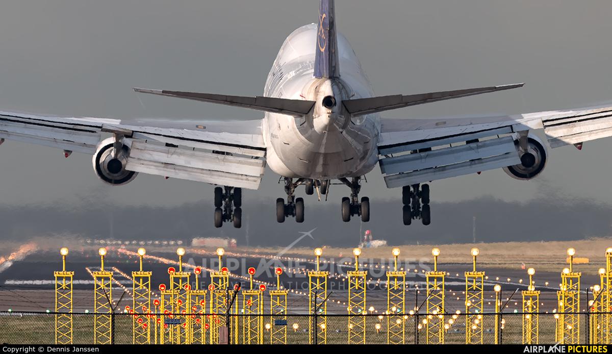 Saudi Arabian Cargo TC-ACF aircraft at Amsterdam - Schiphol