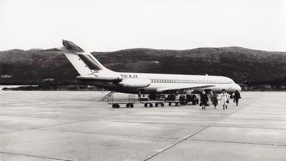 YU-AJX - Inex-Adria Airways Douglas DC-9