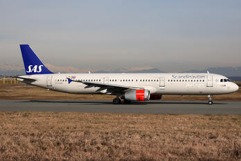 OY-KBB - SAS - Scandinavian Airlines Airbus A321