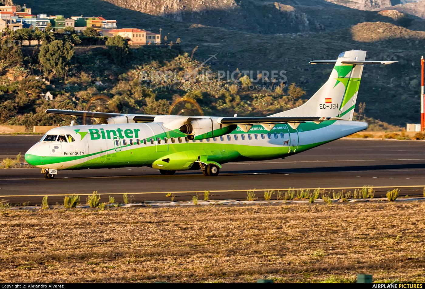 Binter Canarias EC-JEH aircraft at Tenerife Norte - Los Rodeos