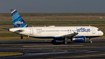 N796JB - JetBlue Airways Airbus A320