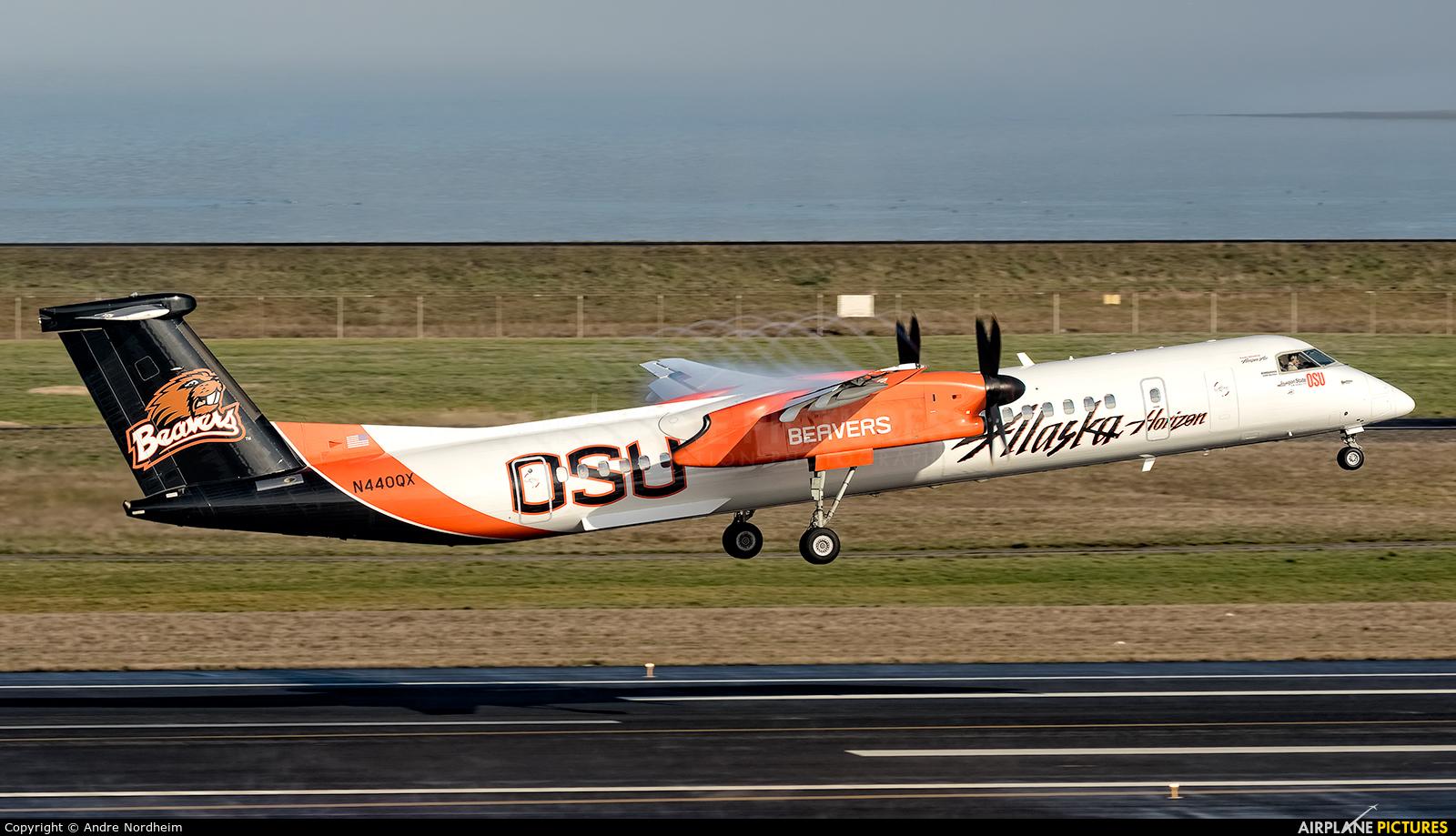 Alaska Airlines - Horizon Air N440QX aircraft at Portland