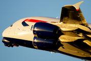 G-XLEB - British Airways Airbus A380 aircraft