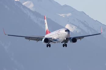 OE-LNP - Austrian Airlines/Arrows/Tyrolean Boeing 737-800