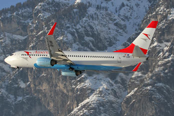OE-LNR - Austrian Airlines/Arrows/Tyrolean Boeing 737-800