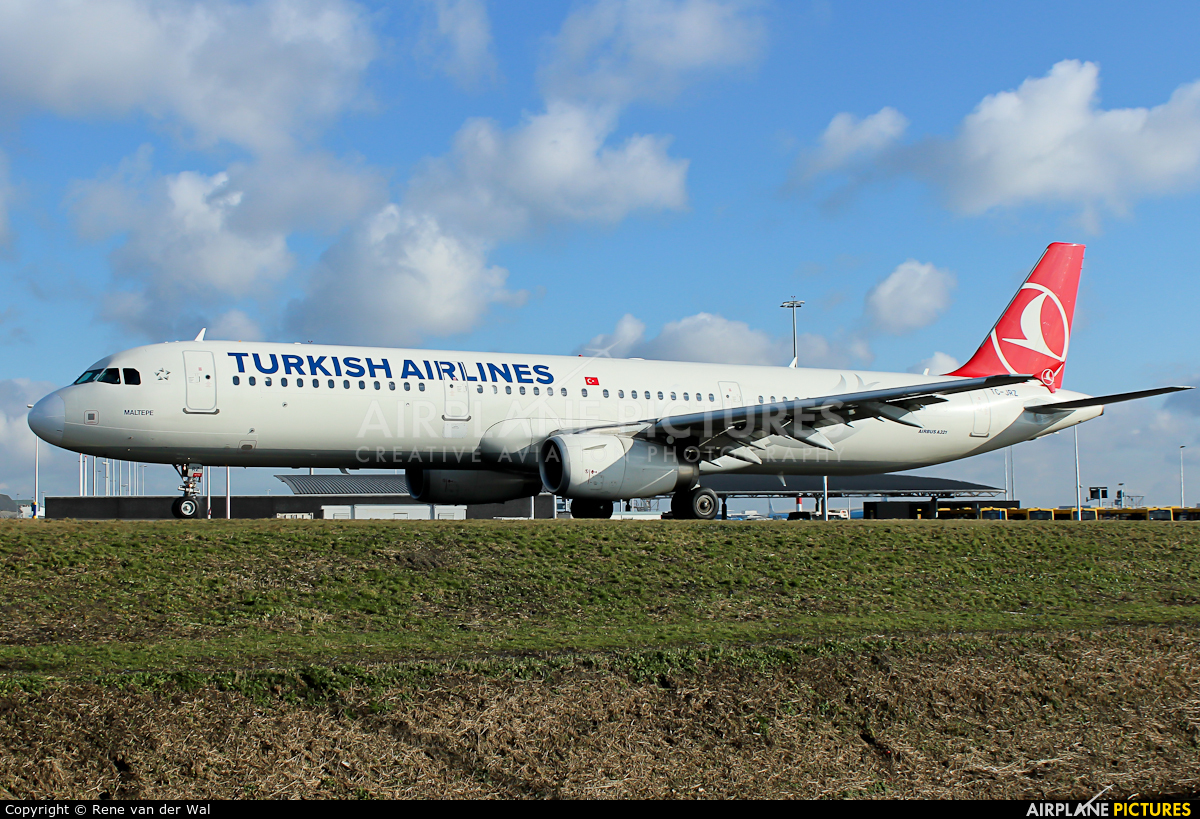 Turkish Airlines TC-JRZ aircraft at Amsterdam - Schiphol